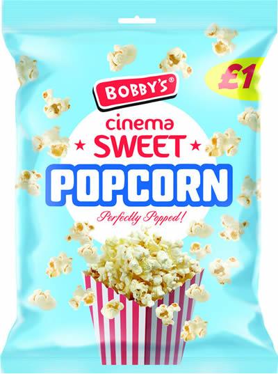 Bobby's Cinema Popcorn NEW