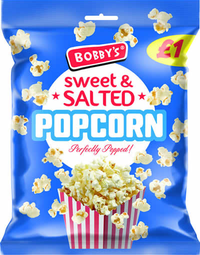 Bobby's Salted Popcorn NEW