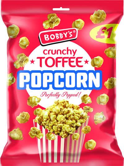 Bobby's Toffee Popcorn NEW