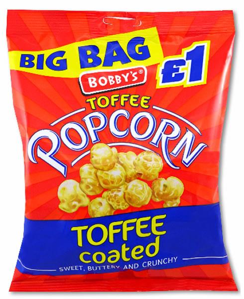 Toffee Popcorn £1