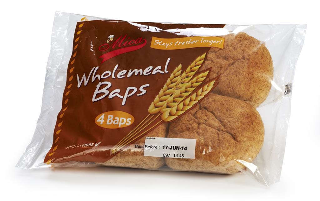 Wholemeal Baps
